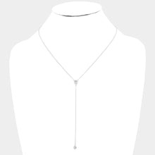 Load image into Gallery viewer, Y Necklace