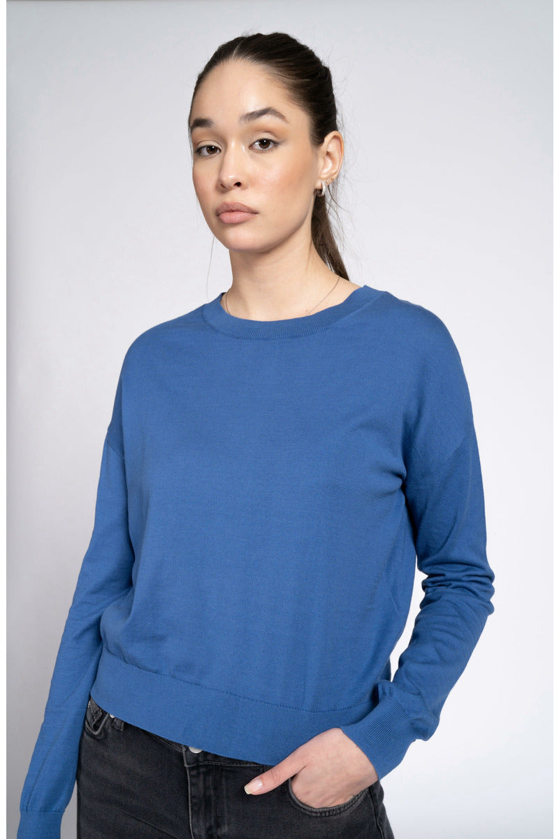 Pullover Marion Work Blue