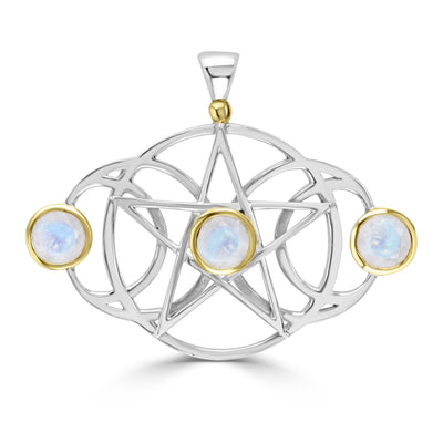 Triple Moon Pentacle
