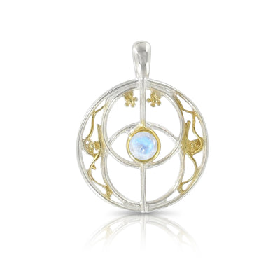 Chalice Well Pendant (Gold Plated)