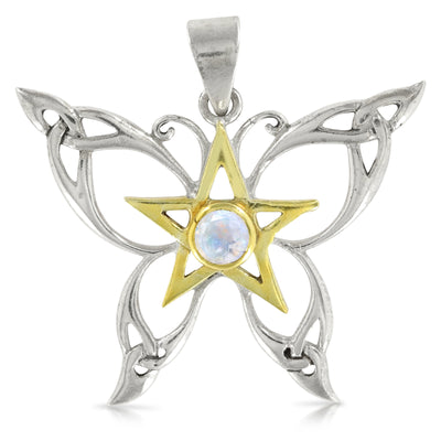 The Celtic Butterfly Pendant