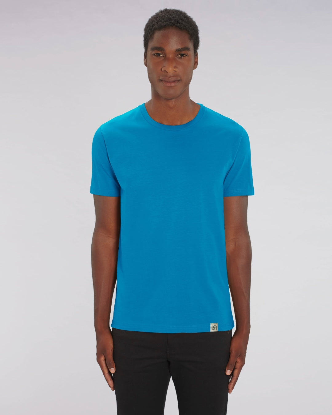 The Green Tee - sustainable, vegan and plastic free t-shirt - colour: blue