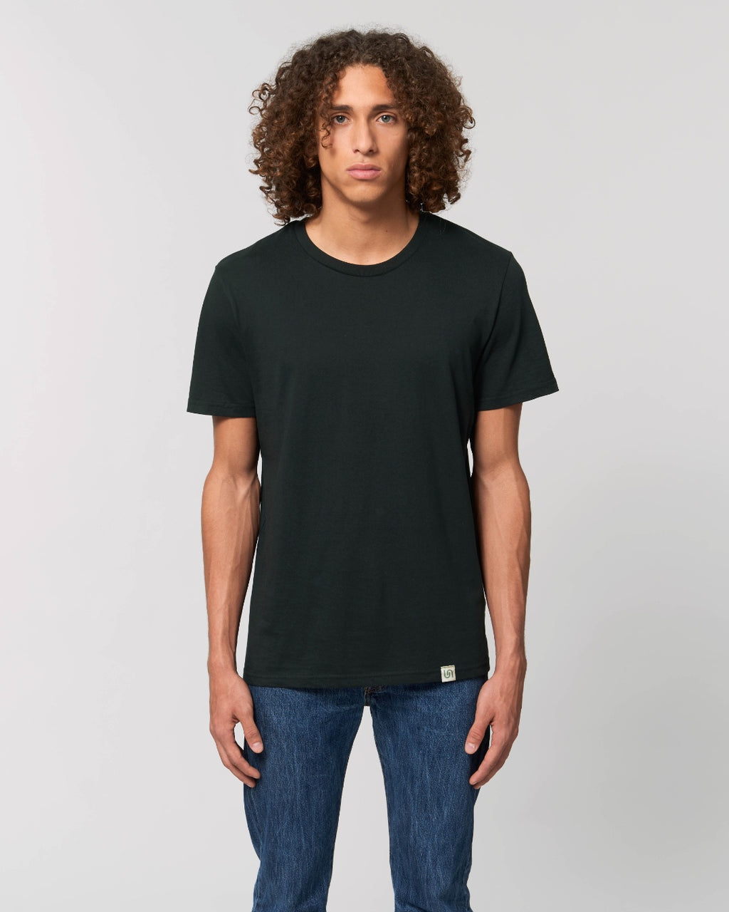 The Green Tee - sustainable, vegan and plastic free t-shirt - colour: black