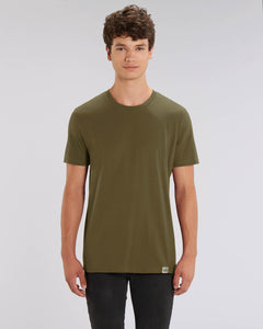 The Green Tee - sustainable, vegan and plastic free t-shirt - colour: khaki
