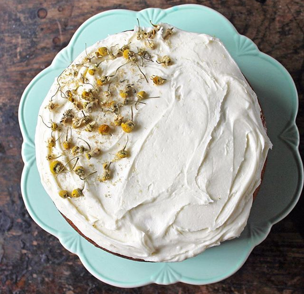 Baking with Chamomile