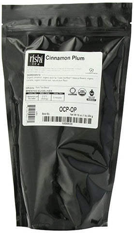 Rishi Tea Cinnamon Plum, 1 Pound