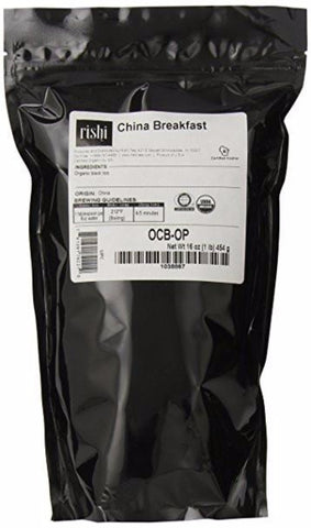 Rishi Tea China Breakfast, 1 Pound