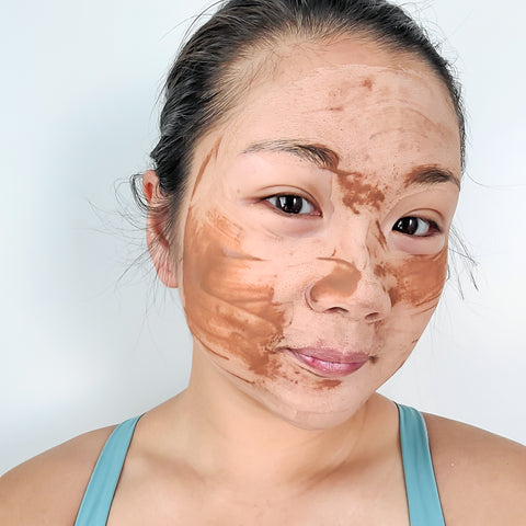 Chuan Skincare - Signature Clay Mask when dry