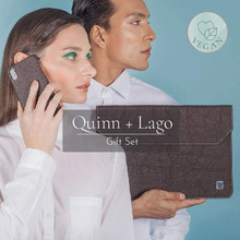 Load image into Gallery viewer, Quinn iPhone Case + Lago Laptop Sleeve
