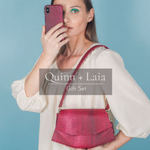 Load image into Gallery viewer, Quinn iPhone Case + Laia Crossbody Bag
