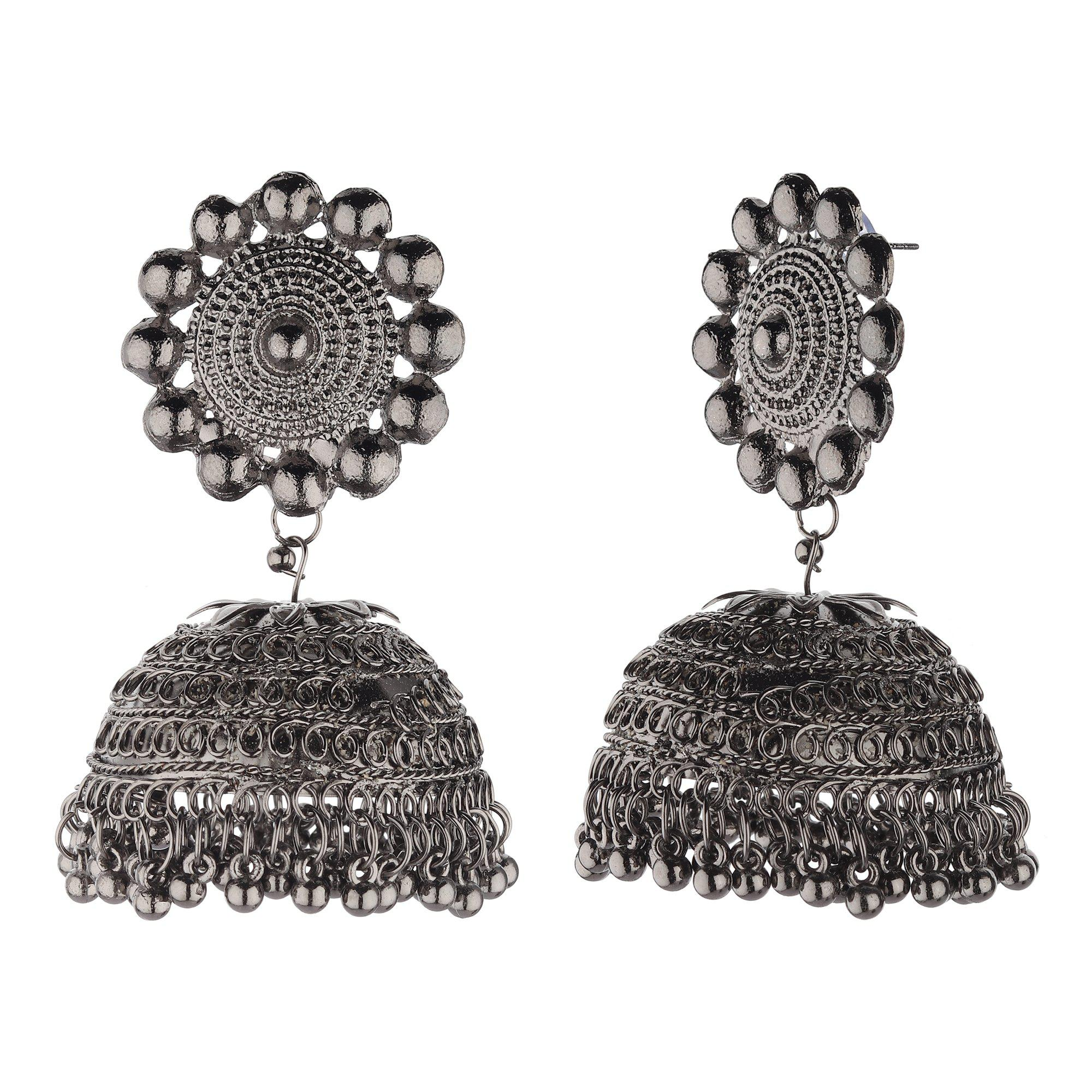 Dome Shape Jhumkas