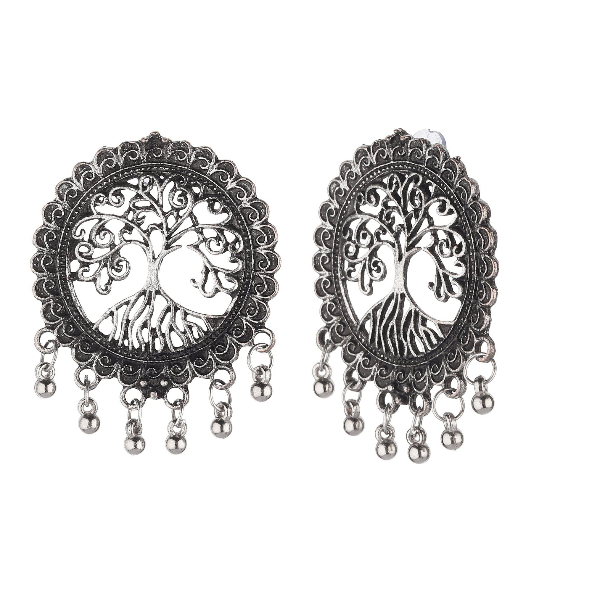 Nature Love Boho Motifs Sun Studs