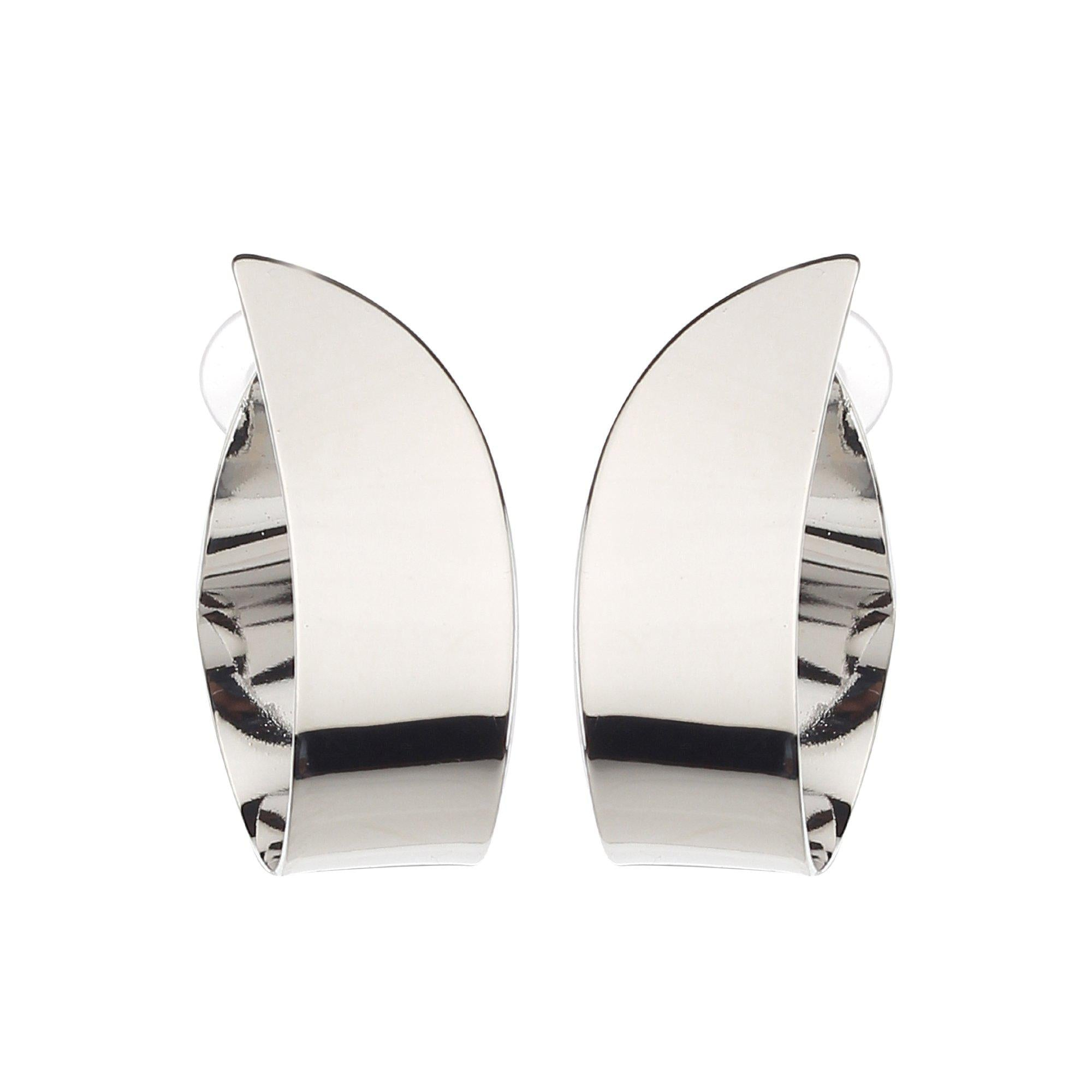 Designer Curve Shape Korean Earrings-Earrings-ONESKYSHOP