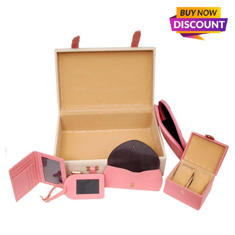 Leather Trunk Box for Women