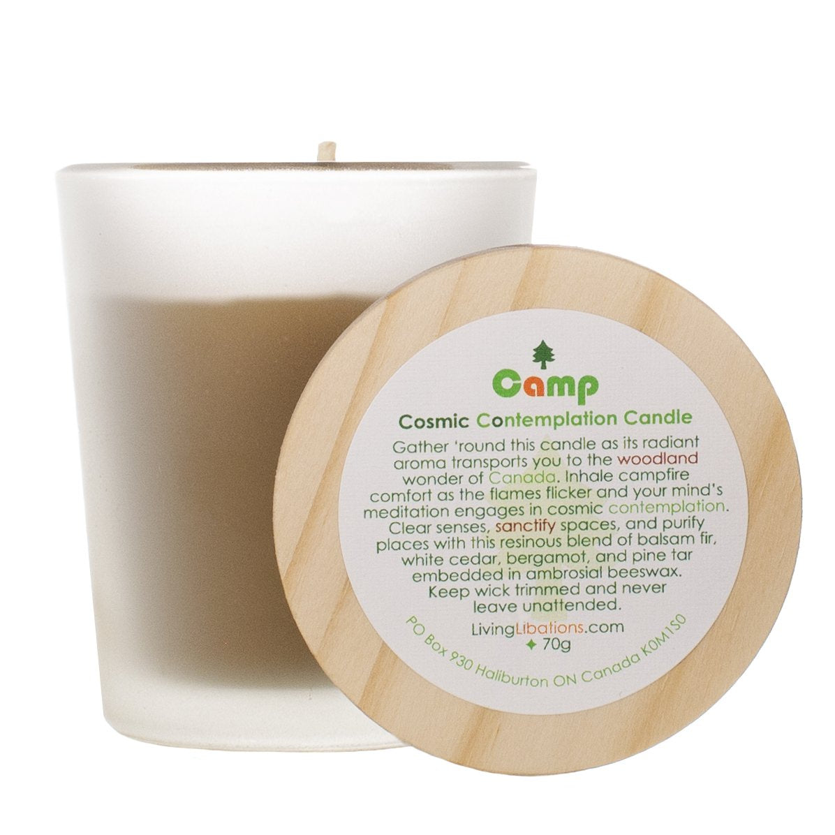 Camp Cosmic Contemplation Candle