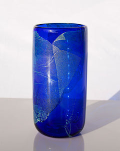 PRESALE Cobalt with Silver Leaf