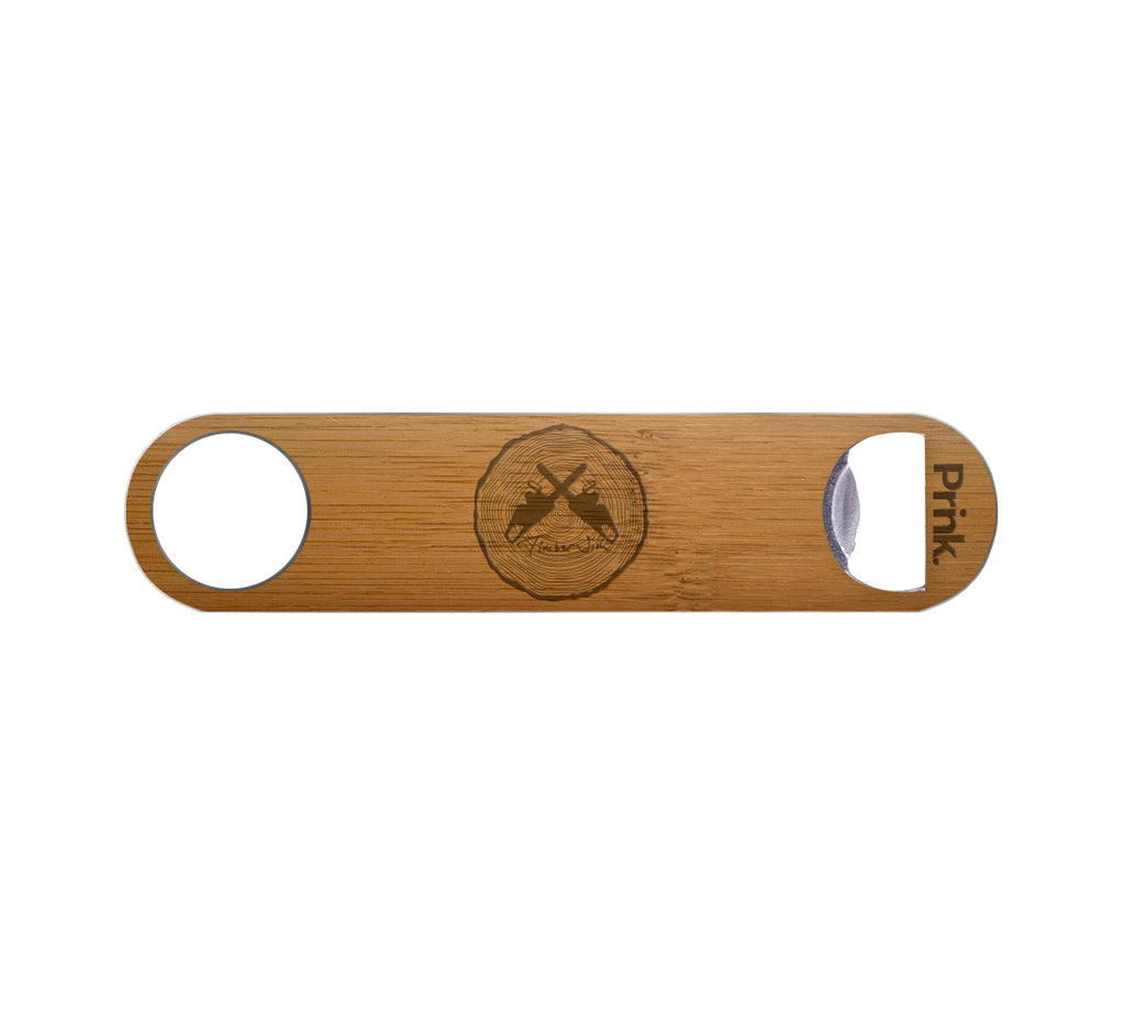Timber Jim Classic Logo Wood Bottle Opener