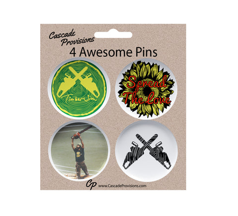 Timber Jim Pin Pack