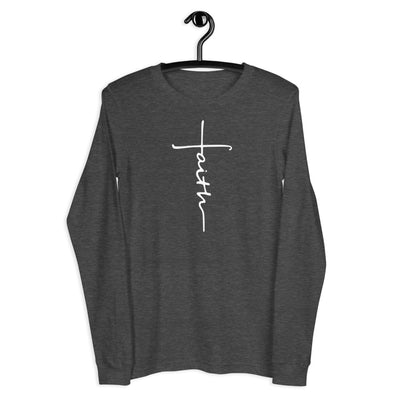 Faith Cross Long Sleeve Tee