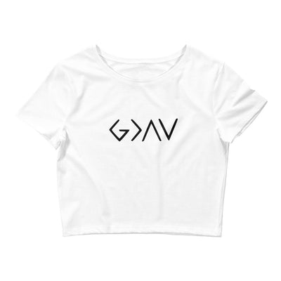 Highs and Lows Crop Tee