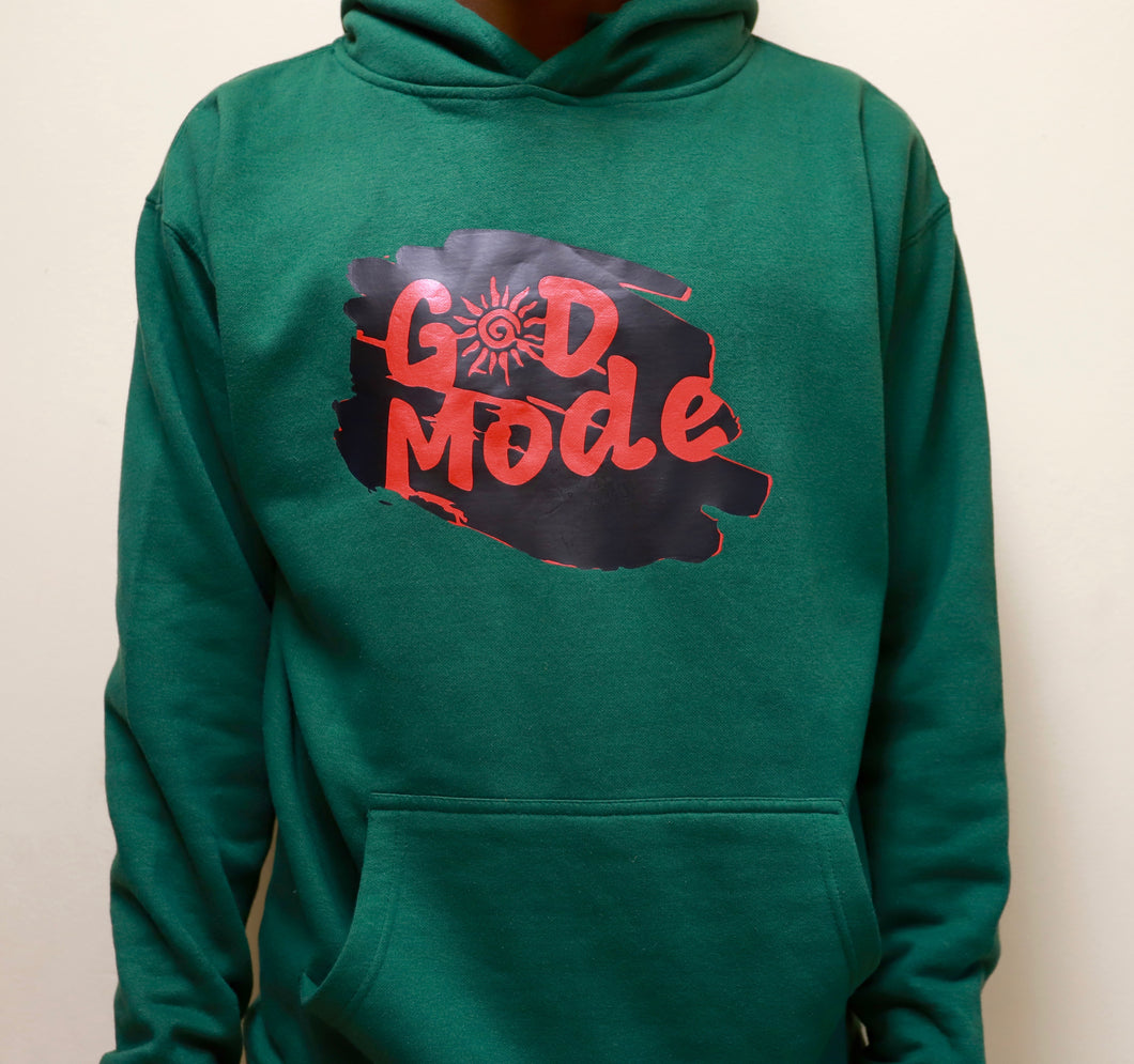 Green G☀️D MODE sweater