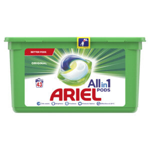 Ariel Wasmiddel All-in 1 Pods Regular 43 stuks (6100225130681)