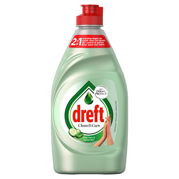 Dreft Clean & Care  Afwasmiddel Aloe Vera & Cucumber 780 ml (6089424961721)