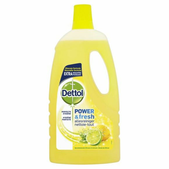 Dettol Allesreiniger Power & Fresh Citroen & Limoen 1000 ml