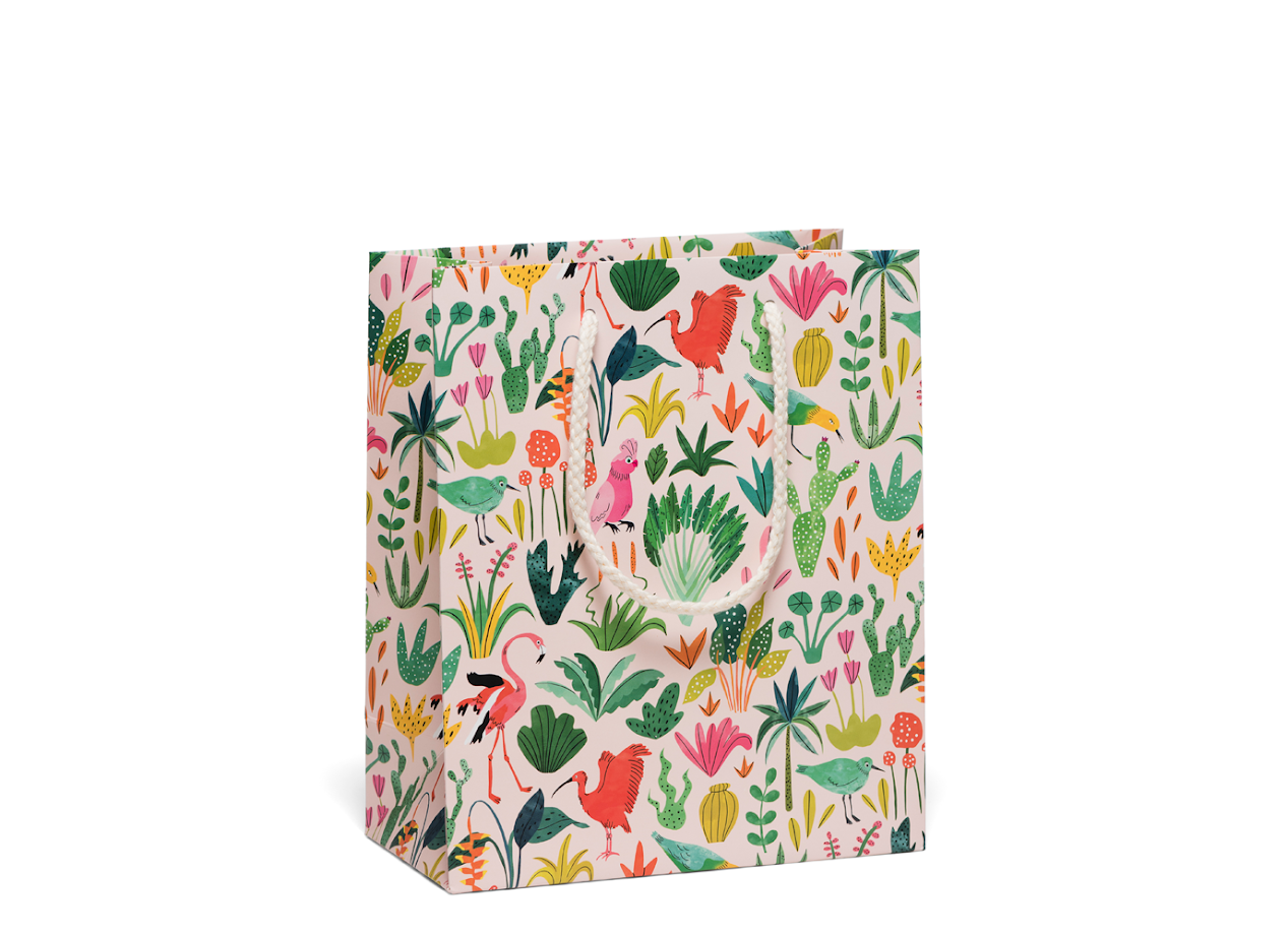 Red Cap Cards - Colorful Birds Bag