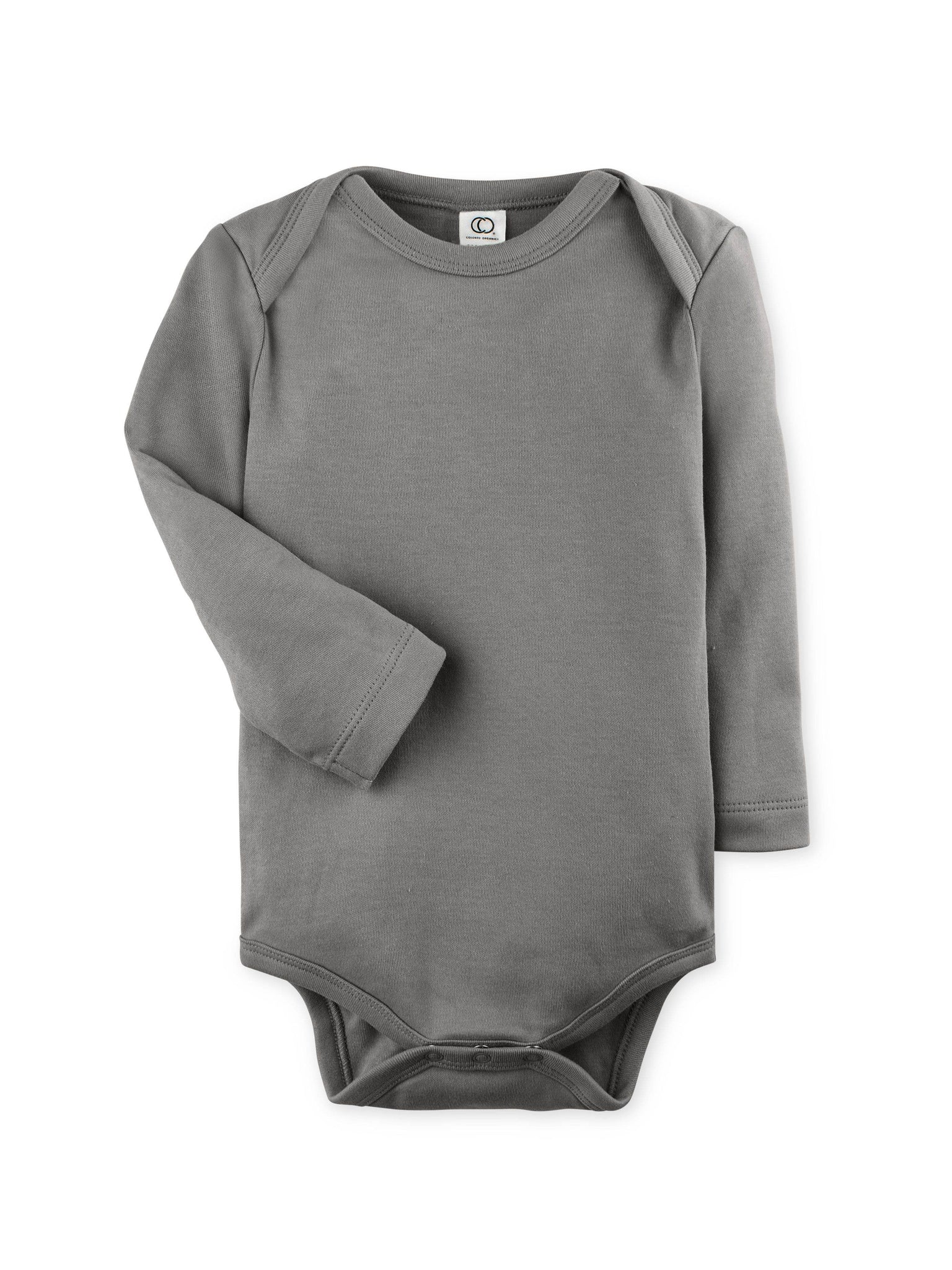 Long Sleeve Classic Bodysuit - Pewter