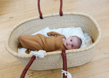 Load image into Gallery viewer, Camel Knotted Gown- Newborn