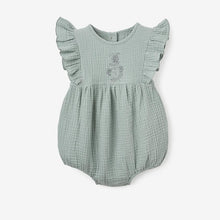 Load image into Gallery viewer, Organic Muslin Bubble Romper