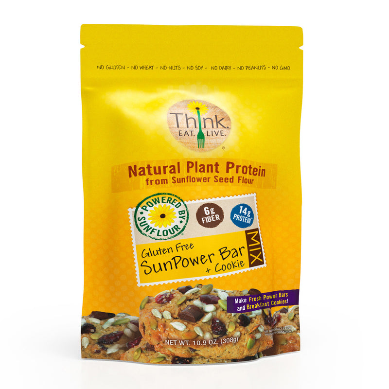SunPower Bar & Cookie Mix | Gluten-Free, Nut-Free  | Low-Carb | High Protein & Fiber | Low Glycemic | Vegan Friendly