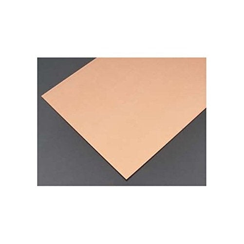 "K&S 1217 Precision Metals 01217 Copper Sheet Metal Rack, 0.025"" Thickness x 6"" width x 12"" Length, 22 Gauge, 3 PCS PER Car, Made in USA Copper Coating Cut Cutting Angle Flute"