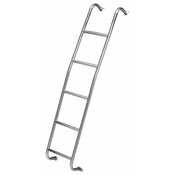 Surco 093S7 Short Stainless Steel Van Ladder Sprinter