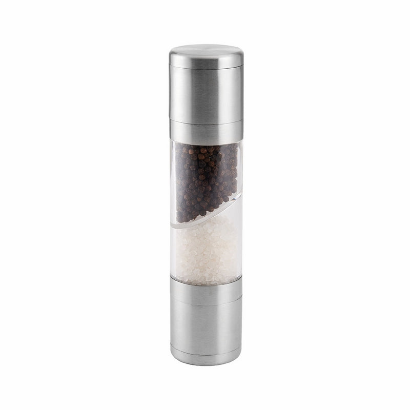 Kamenstein Dual-Action Salt and Pepper Grinder with Free Spice Refills for 5 Years