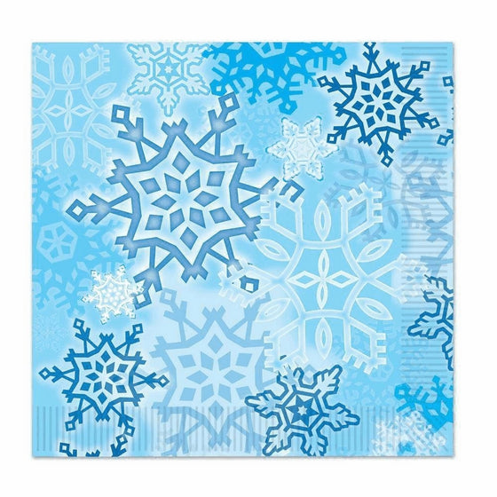 Snowflake Luncheon Napkins (Pack of 3)
