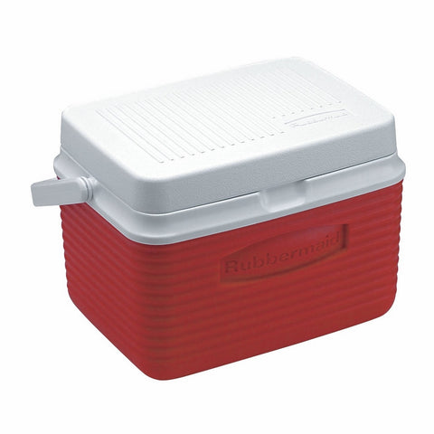 Rubbermaid Cooler / Ice Chest, 5-quart, Red