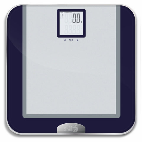 EatSmart Products Precision Tracker Digital Bathroom Scale with Eatsmart Accutrack Software