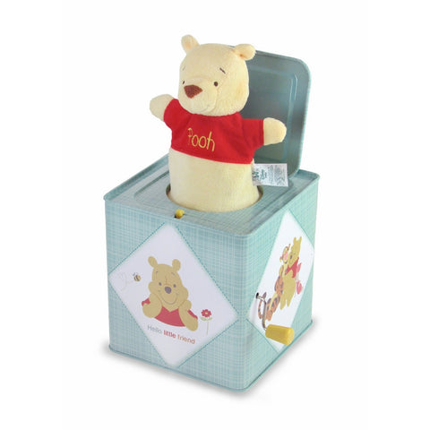 Kids Preferred Disney Baby Winnie the Pooh Jack-in-the-Box, 6.5""