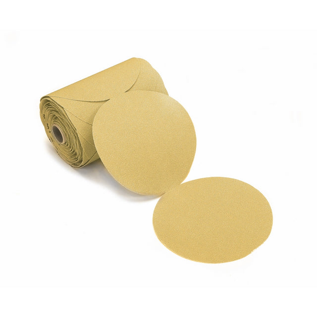 Mirka 23-342-320 Bulldog Gold 6-Inch PSA Linkrol Disc with 320 Grit