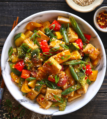 Vegetarian Stir Fry with Tofu