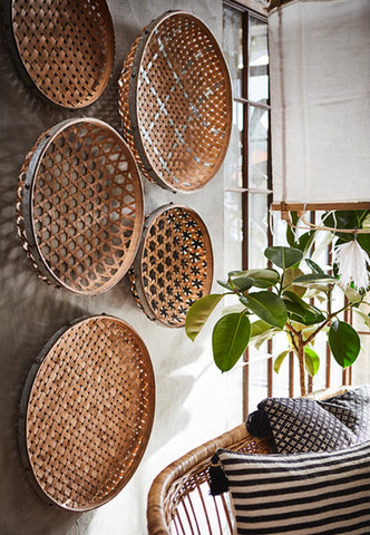 Rattan Round Decoration