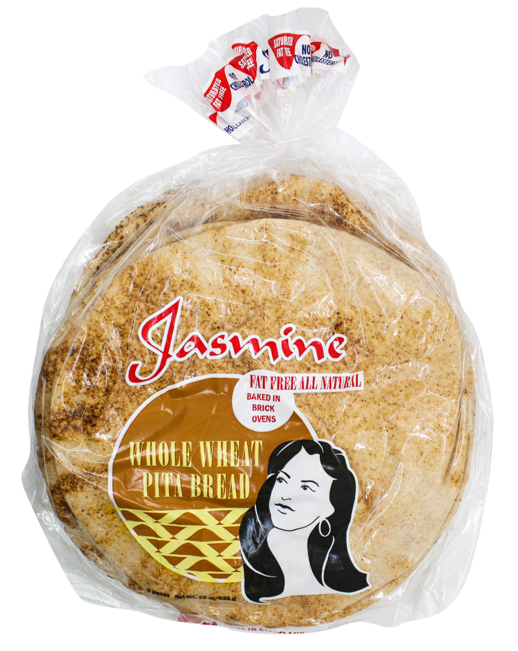 Jasmine Wheat Pita Bread