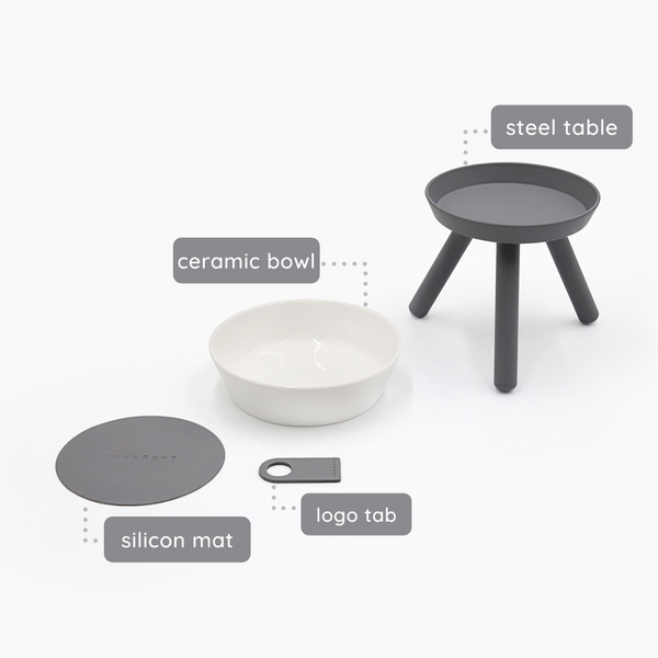 INHERENT Oreo Table - Grey