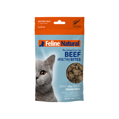 Feline Natural Freeze Dried Healthy Bites - Beef