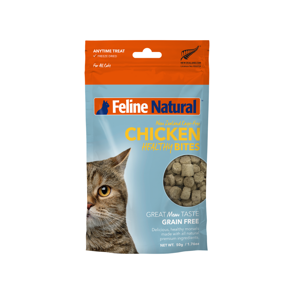 Feline Natural Freeze Dried Healthy Bites - Chicken