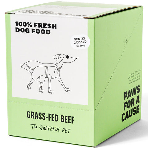 The Grateful Pet Gently Cooked Grass-fed Beef