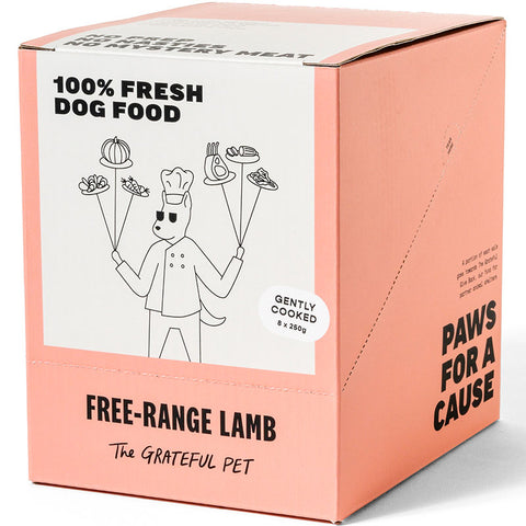 The Grateful Pet Gently Cooked Free-range Lamb