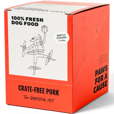 The Grateful Pet Gently Cooked Crate-free Pork
